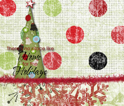 Theres No Place Like Home for the Holidays Twitter Background